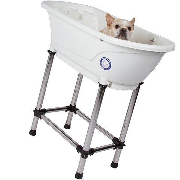 flying pig pet dog cat washing shower grooming portable bath tub - best dog bath tub