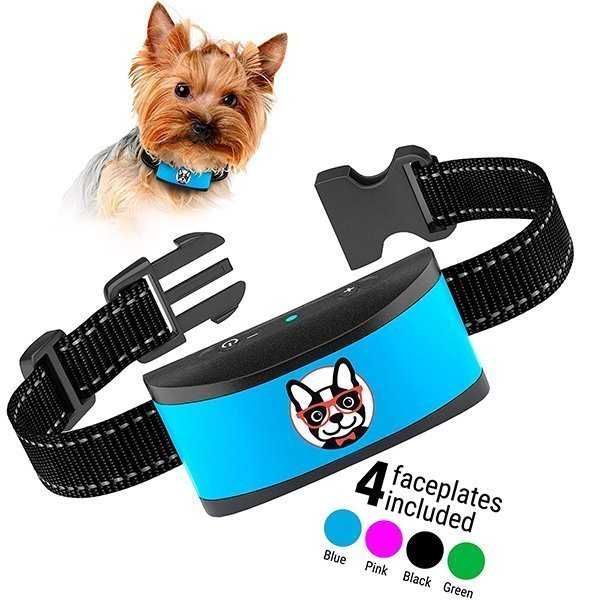 elecane small dog bark collar rechargeable - best bark collar for small dogs