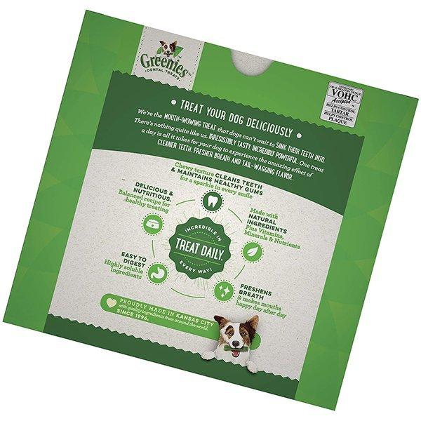 greenies original teenie natural dental dog treats - best dental chews for dogs