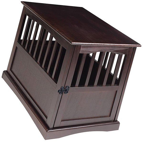 casual home wooden pet crate - best wooden dog crates