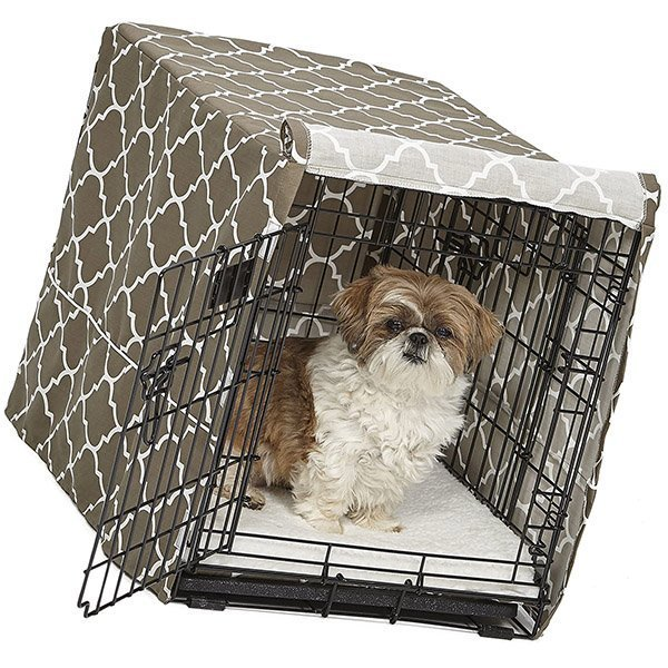 midwest dog crate cover - best dog kennel covers