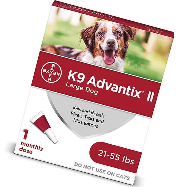 bayer k9 advantix II flea and tick prevention - best flea treatment for dogs