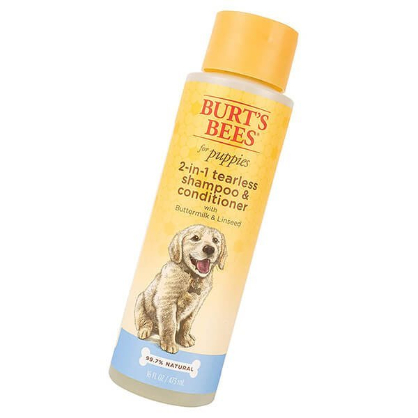 burt's bees for dogs all-natural tearless shampoo & conditioner - best dog shampoo