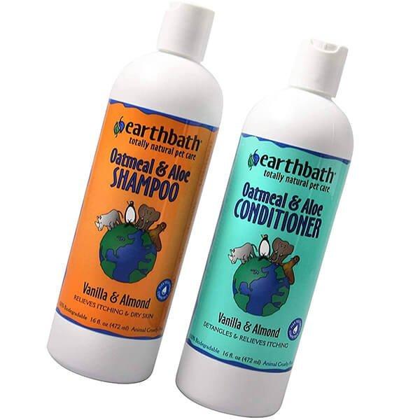 earthbath oatmeal & aloe pet grooming bundle - best dog shampoo