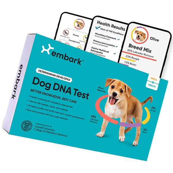 embark dog dna test - best dog dna test