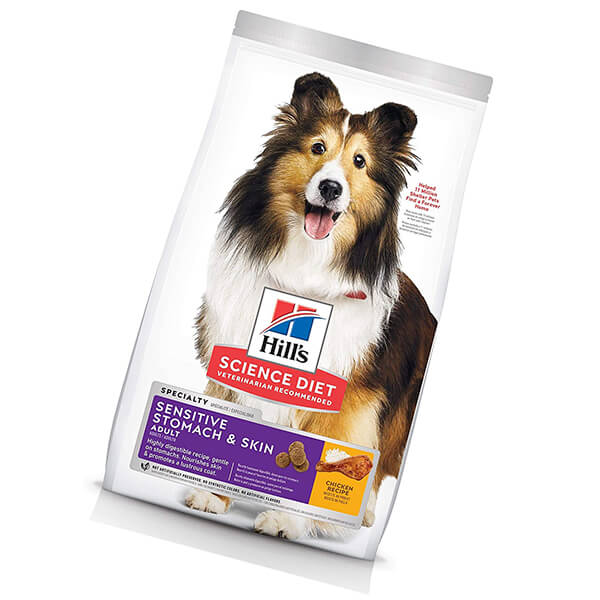hill's science diet dry dog food - best dog food for allergies