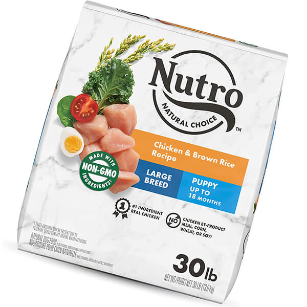 nutro natural choice large breed puppy dry dog food - best large breed puppy food