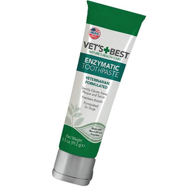 vet's best enzymatic dog toothpaste - best dog toothpaste