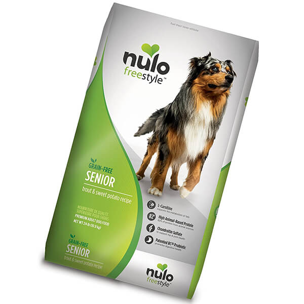 nulo senior dry dog food - best senior dog food