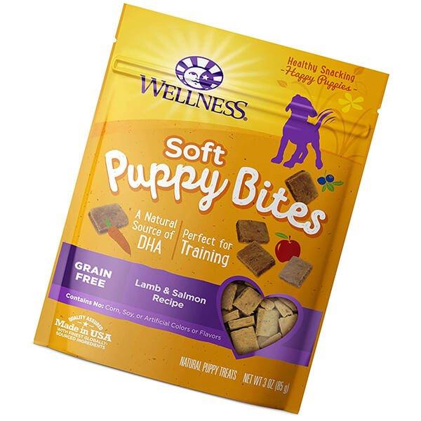 wellness natural pet food grain-free crunchy puppy bites - best dog treats