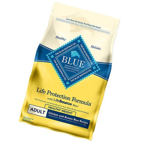 blue buffalo life protection formula natural adult dry dog food - best cheap dog food
