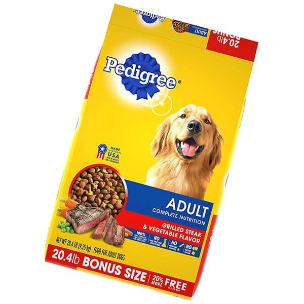 pedigree adult dry dog food - best cheap dog food
