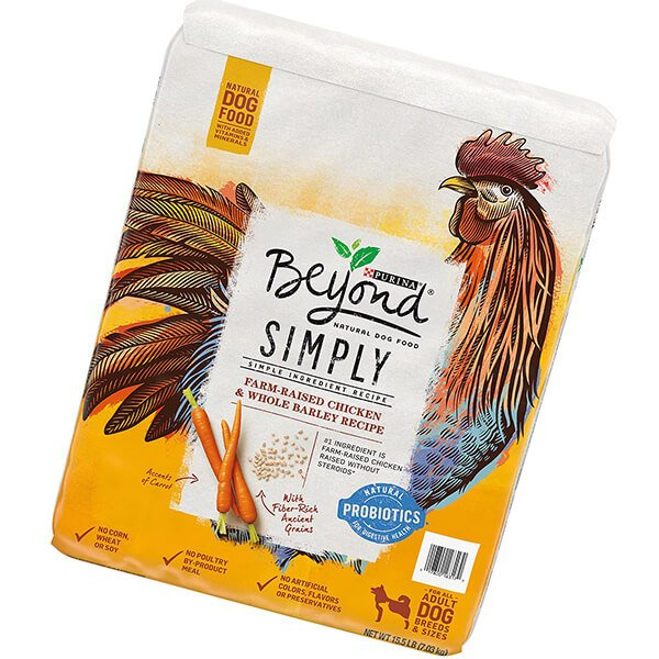 purina beyond simply natural chicken adult dry dog food & puppy food - best cheap dog food