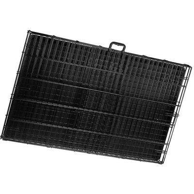 amazonbasics single-door & double-door folding metal dog or pet crate - best large dog crates