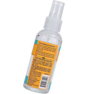 arm and hammer advanced care dental spray/fresh breath and whitening for dogs - best dog breath spray