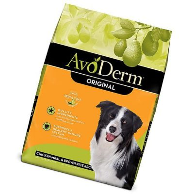 avoderm natural dry & wet dog food - best dog food for allergies