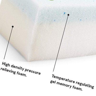 barkbox memory foam platform dog bed - best waterproof dog beds