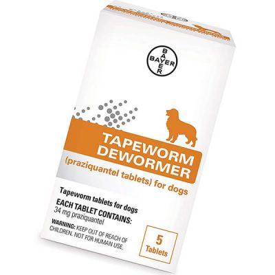 bayer tapeworm dewormer - best dewormer for dogs