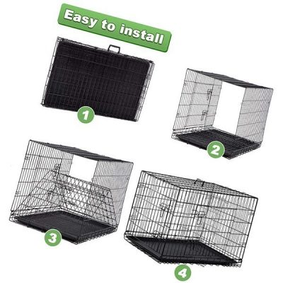 bestpet large dog crate - best large dog crates