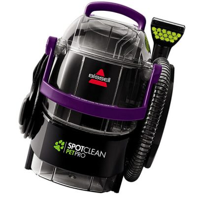 bissell spotclean pet pro portable carpet cleaner - best carpet cleaner for pets