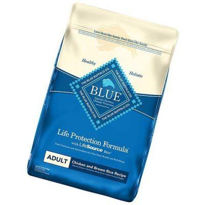 blue buffalo life protection formula natural adult dry dog food - best low sodium dog food