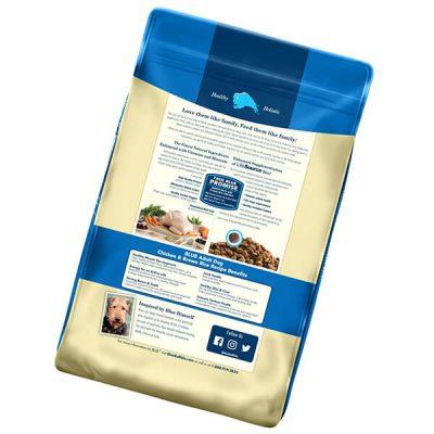 blue buffalo life protection formula natural adult dry dog food - best senior dog food