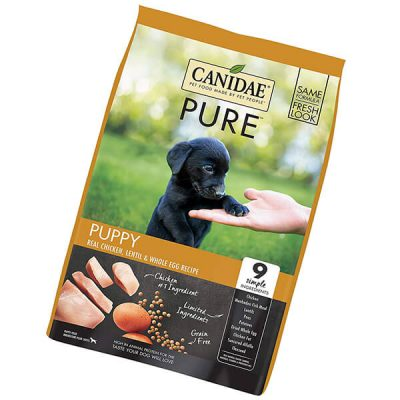 canidae pure puppy recipe - best grain free dog food