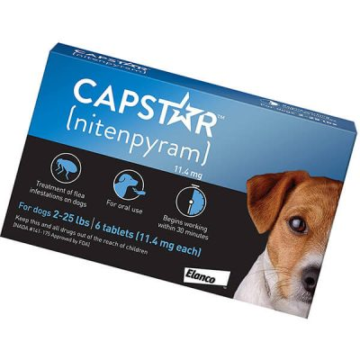 capstar fast-acting oral flea treatment for dogs - best flea treatment for dogs