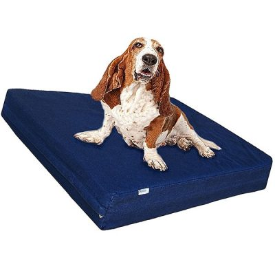 dogbed4less premium memory foam dog bed - best waterproof dog beds