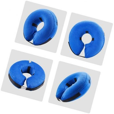e-komg dog cone after surgery, protective inflatable collar - best inflatable dog collar