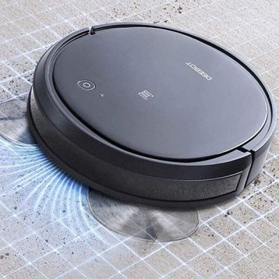ecovacs deebot 500 robot vacuum cleaner - best robot vacuum for pet hair