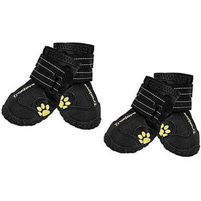 expawlorer waterproof dog boots - best dog boots