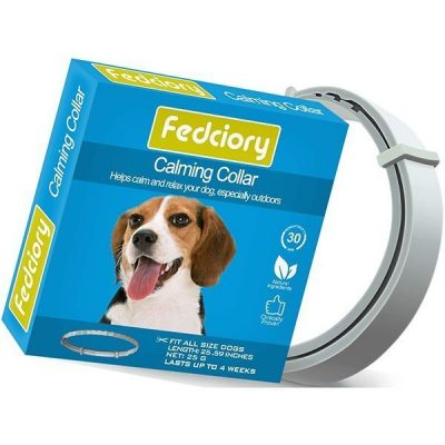 fedciory calming pheromone collar for dogs - best calming collar for dogs
