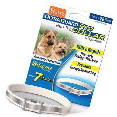 hartz ultraguard pro reflective flea & tick collar - best flea collar for dogs