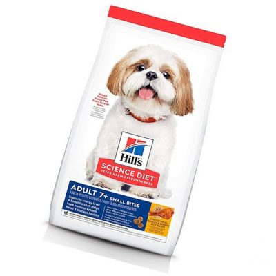 hill's science diet adult 7+ small bites chicken meal - best low sodium dog food