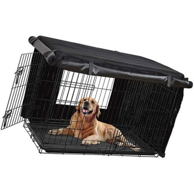 honest outfitters dog crate cover - best dog kennel covers