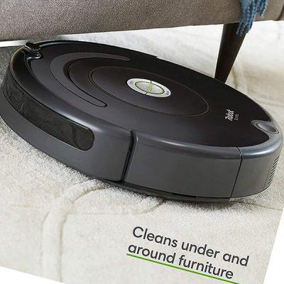 irobot roomba 675 robot vacuum-wi-fi connectivity - best robot vacuum for pet hair