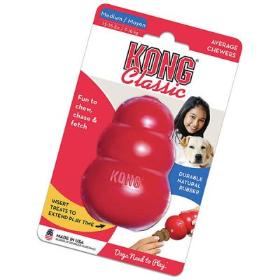 kong - classic dog toy - best chew toys for puppies