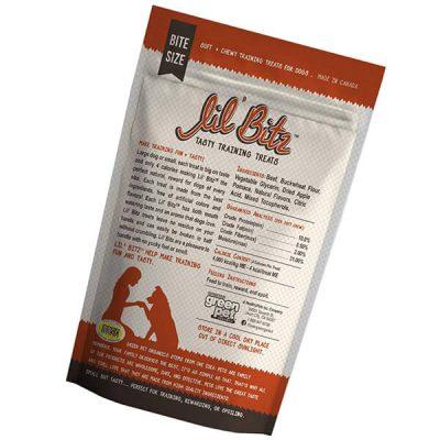 lil bitz hickory smoked beef training treats - best dog training treats