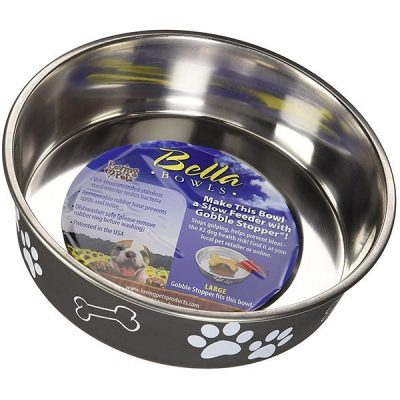 loving pets bella bowl - best stainless steel dog bowls