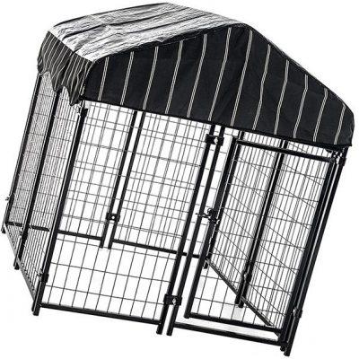 lucky dog - pet resort heavy duty dog outdoor playpen - best heavy duty dog crate