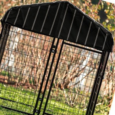 lucky dog - pet resort heavy duty dog outdoor playpen - best heavy duty dog crate
