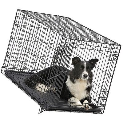 midwest homes for pets dog crate - best dog crate