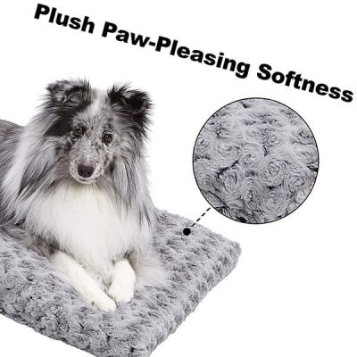 midwest homes for pets plush dog bed - best dog beds