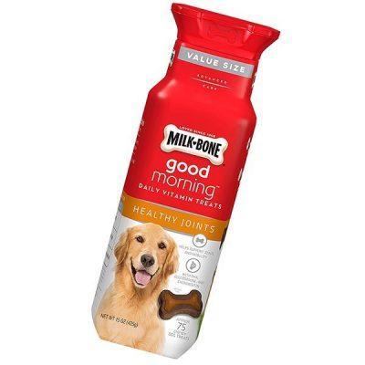 milk-bone daily vitamin chewy dog treats for dogs - best dog vitamins