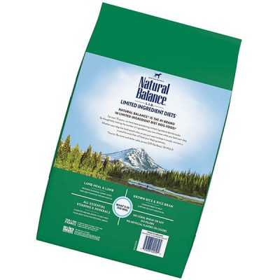 natural balance limited ingredient diets dry dog food - best dog food for allergies