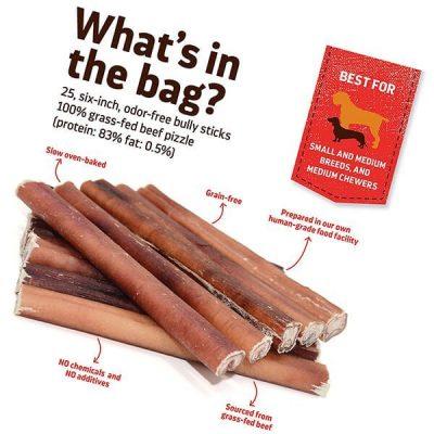 natural farm bully sticks - best bully sticks
