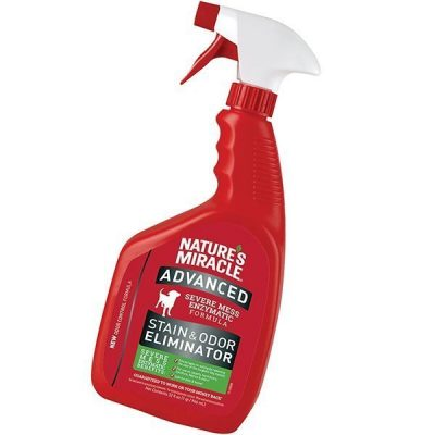 nature's miracle advanced stain and odor eliminator dog - best pet odor remover