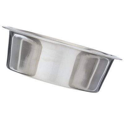 neater pet brands slow feed bowl stainless steel - best stainless steel dog bowls