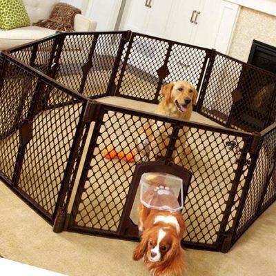 north states mypet indoor/outdoor petyard - best portable dog fence